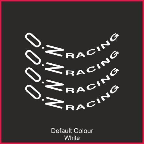 "N2142 Graphics,Car Oz Racing Wheel Decals 19/"" X8,Vinyl Sticker Wheels"