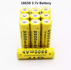 2-8-pcs-battery-3-7V-9900mAh-rechargeable-liion-battery-for-power-bank