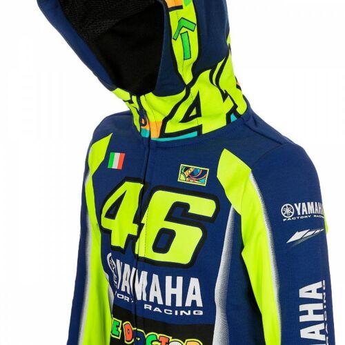 Rossi Vr46 Pile Hoddie Yamaha Bambini Valentino Ufficiale 314909 Ydkfl Per rqECrw7