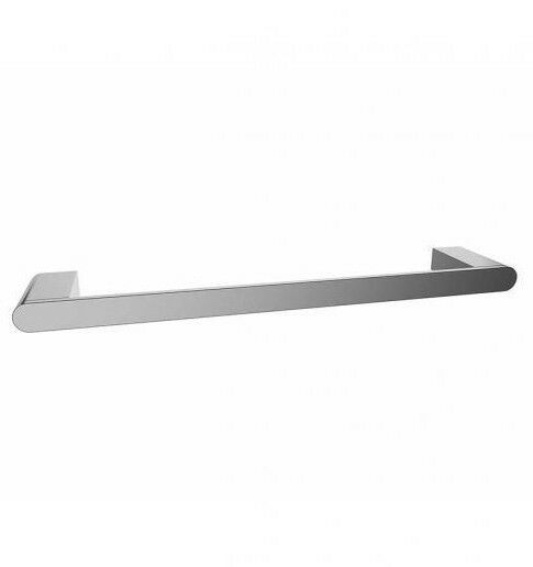 Mizu SOOTHE SINGLE TOWEL RAIL Wall Mount,Zinc Alloy Brass CHROME- 300mm Or 600mm