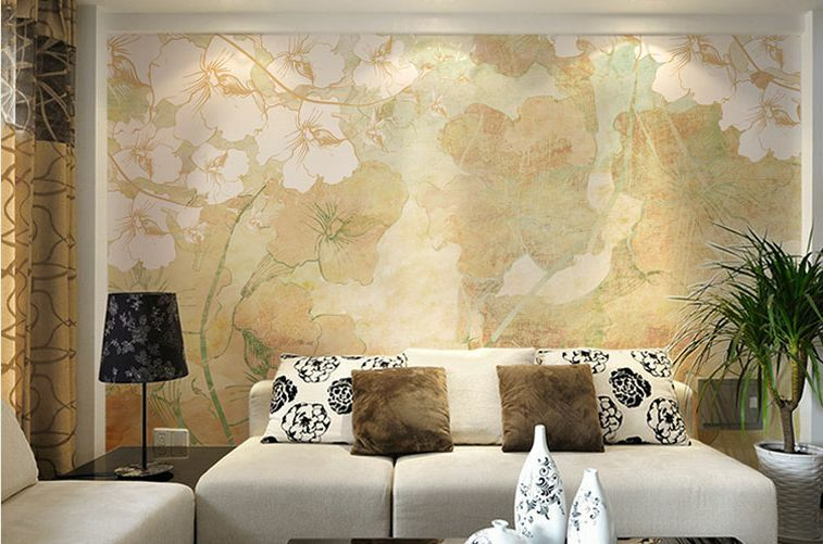 3D Wall Warm Gelb Leaves 57Paper Wall Print Wall Decal Wall Deco Indoor Murals