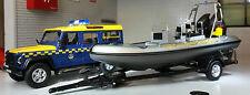 1:43 Scale Model Land Rover Defender 110 LWB Coastguard TDi TD5 Oxford Cararama