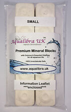 PREMIUM MINERAL BLOCKS 7g x10 with added CALCIUM+VITAMINS+FOOD for TROPICAL