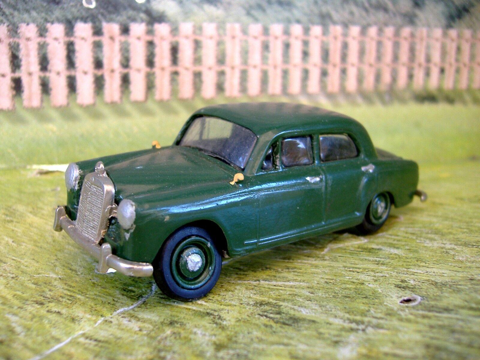 1 43 Walldorf  (Germany) Mercedes Benz 180 1952  White Metal