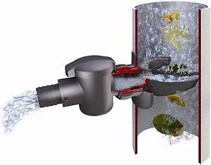 Regensammler Speedy für Regentonnen  Fallrohrfilter Garantia Regenwassersammler