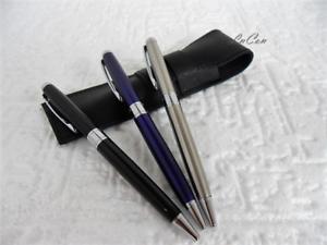 Penna a Sfera in Acciaio con Incisione Personalizzata del Nome o delle Iniziali