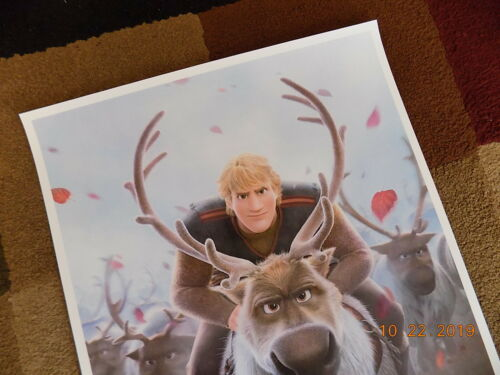 """Movie  Collector/'s  Poster Print T3 - B2G1F Frozen 2 11/"""" x 17/"""""""