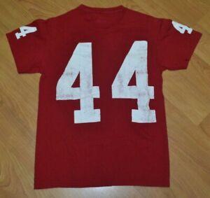 Bubba-Gump-Shrimp-Co-Las-Vegas-Football-Jersey-T-Shirt-Small-44-Forrest-Alabama