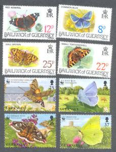 Rationnel Papillons & Papillons-guernesey 2 Ensembles Neuf Sans Charnière-insectes - 1981 & 1997-81 & 1997fr-fr Afficher Le Titre D'origine