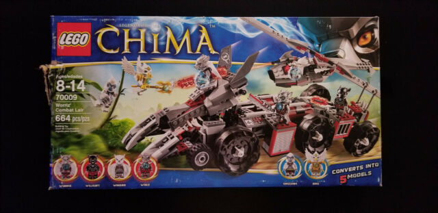 Lego CHIMA #70009 Worriz/' Combat Lair Building Toy Set