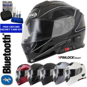 VCAN-BLINC-V271-BLUETOOTH-FLIP-FRONT-MOTORCYCLE-MOTORBIKE-HELMET-MP3-SAT-NAV