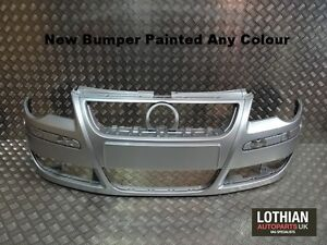 VW-Polo-9N-2005-2009-New-Front-Bumper-Painted-Any-Colour