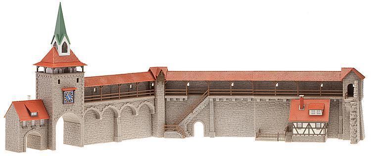 Faller 130401 murallas altstadtmauer longitud total aprox. 780mm nuevo
