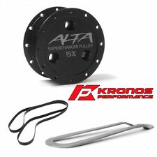 Alta Performance 2002-2007 Mini Cooper S 15% Supercharger Pulley Belt Combo Kit