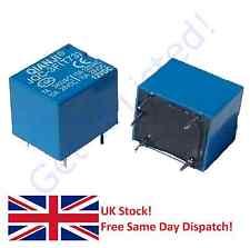 2 X Dc 12v Bobina 10a/125v Ac 10a/28v Dc 5 Pins SPST Power Relay jqc-3f
