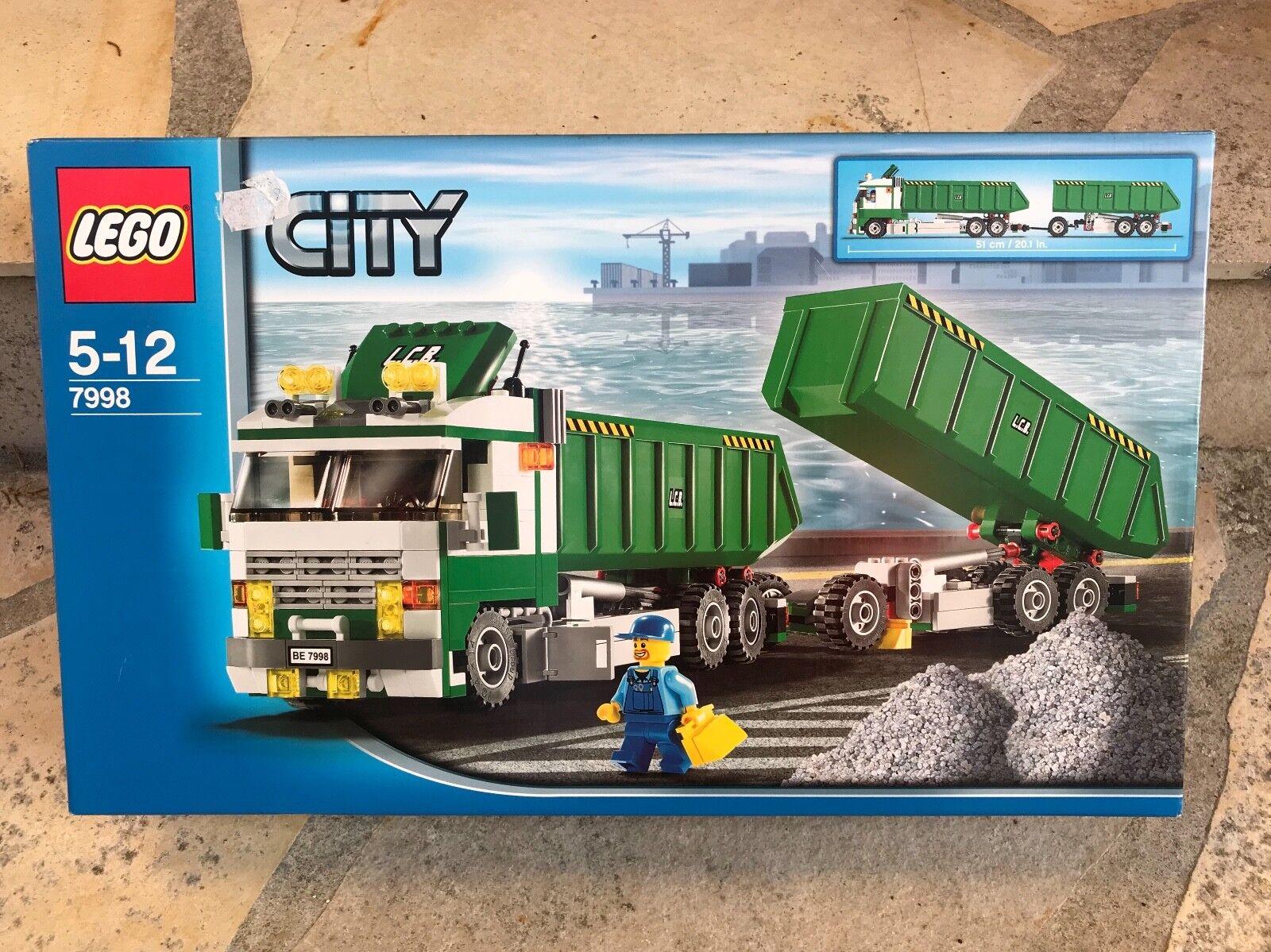 Lego 7998  Camion travaux publiques  gros pas cher et de haute qualité