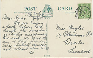 2404-HOLYWELL-CDS-23mm-RP-postcard-GV-1-2-D-POSTMARK-ERROR-MISSING-YEAR-191