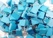 200 x Folien Kondensator 0,0015uF 1,5nF 10% 400Vdc Siemens #13-2#1F28#
