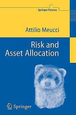 Risk and Asset Allocation by Attilio Meucci 9783540222132