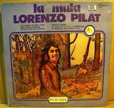 LORENZO PILAT - LA MULA - LP MINT Sigillato