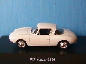 DKW-MONZA-WHITE-1956-STARLINE-1-43-BIANCA-BLANCHE-1-43-WEISS-MODELE-MINIATURE