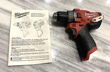 Brand New Milwaukee 2504 20 M12 Fuel 12v Brushless 12 Hammer Drill Tool Only