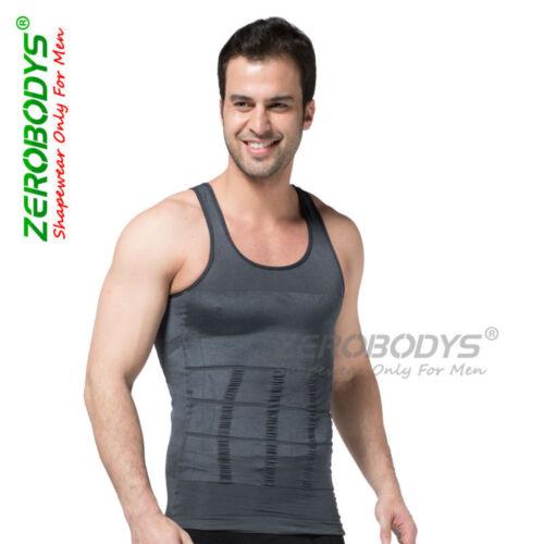 Zerobodys Synthetic Slimming Vests Body Shaper Black All Sizes