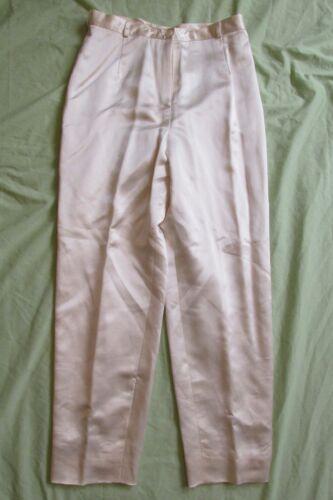 12 100 seta Nuovi Klein crema Collection pantaloni Calvin da avorio donna Taglia 797762256157 FnFx4Pq