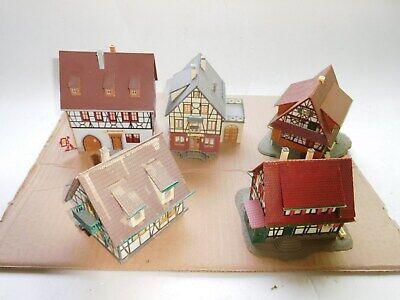 + + H0 Faller 5 Reticolare Case Klosteschenke Pensione Appartamenti-pronto Costruito-mostra Il Titolo Originale