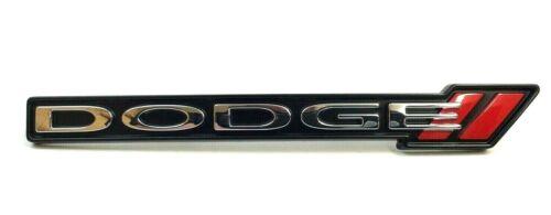2013-2016 Dodge Dart front bumper fascia black red Stripes Logo Nameplate Emblem