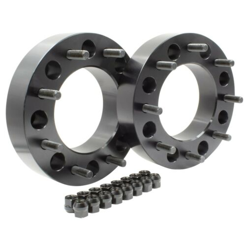"""2 PC 2/"""" Wheel Spacer Adapter8X200 Ford F-350 and F-350 Super duty"""
