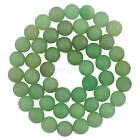 8mm Round Green Aventurine Gemstone Loose Beads Spacer Jewelry Findings 15''
