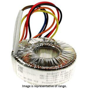 vigortronix-vtx-146-300-212-TOROIDALE-Trasformatore-300VA-0-12V-DOPPIO-primaria