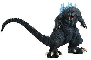 GIGANTIC SERIES GODZILLA 2001 BLUE DORSAL FIN VERSION FIGURE PLEX X-PLUS NEW