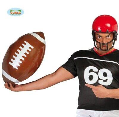 Costume Gonfiabile Palla Da Rugby Football Americano 40cm Nuovo Fg.-mostra Il Titolo Originale Long Performance Life