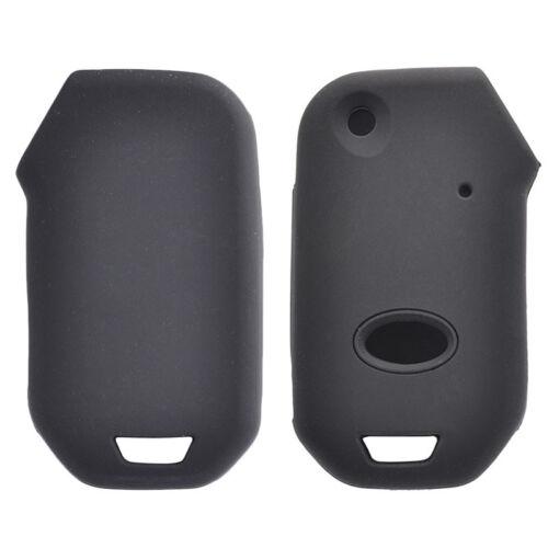 Silicone Key Case Cover For Kia Sportage Ceed Sorento Cerato Forte 2018-19