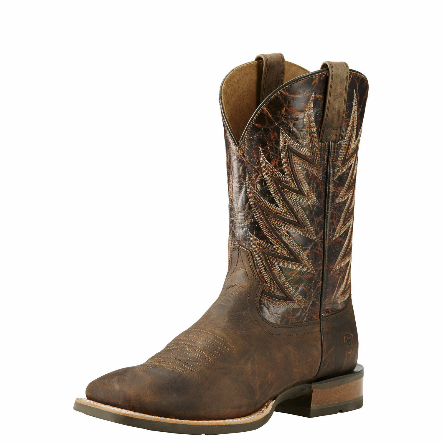 Ariat 10018695 Challenger 11  Branding Iron Wide Square Toe Riding Boots
