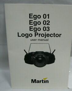 Ego 01 02 03 Logo Projecteur Martin Manuel Utilisateur Projecteur Manuel De L'utilisateur-afficher Le Titre D'origine
