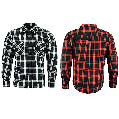 RKsports Motorcycle Motorbike Mesh Lined New Shirt Men Ladies CE Armoured