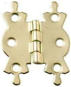 Leather-Cue-Case-Butterfly-Hinges-2-Pack-Brass-or-Chrome-Plated