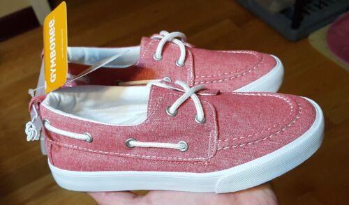 """NWT Gymboree /""""Everyday Basics/"""" Girls Sunset Pink Boat Shoes Size 13 $30"""