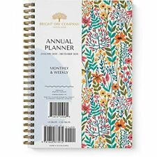 2022 Floral Annual Planner By Bright Day 825 X 625