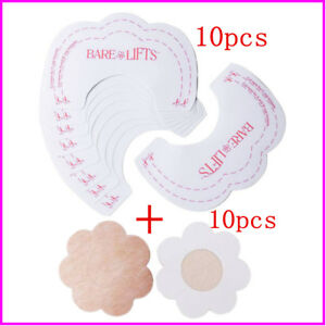 Women's Lingerie, Intimates Instant Magic Bra Lift Strapless Backless Bra Cleavage Enhancer Stick Tape Breast Forms, Enhancers