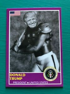 DONALD-TRUMP-1989-Score-Custom-Bo-Jackson-Baseball-Football-Shoulder-Pads-Card