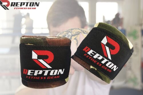 Muay Thai MMA Bandage  ARMY CAMO Repton Green Camouflage Boxing Hand Wraps