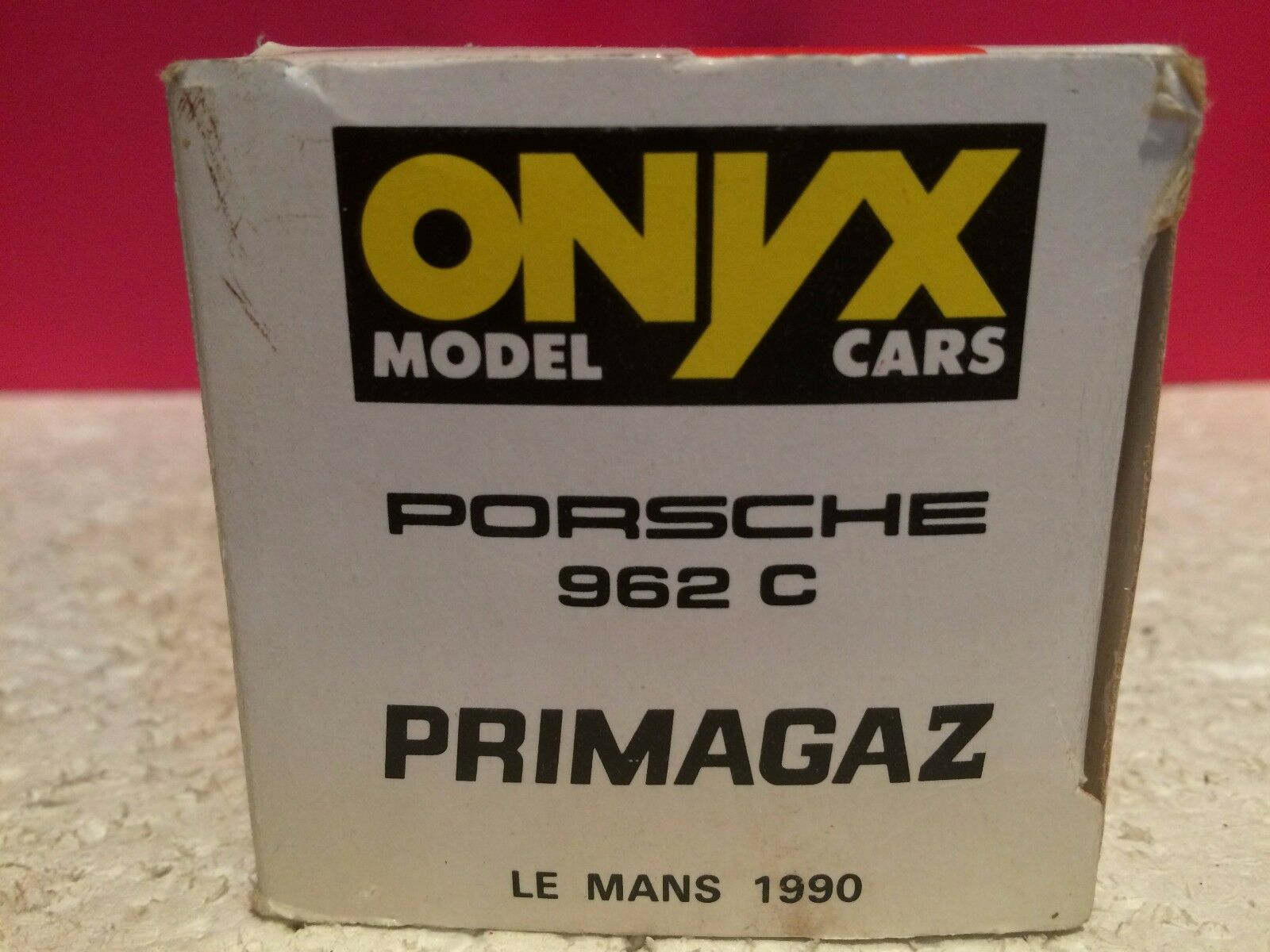 ONYX ONYX ONYX SUPERBE PORSCHE 962C PRIMAGAZ LE MANS 1990 NEUF EN BOITE 1 43 80ca64