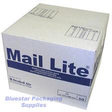 100 Mail Lite White D/1 JL1 Padded Envelopes 180 x 260mm