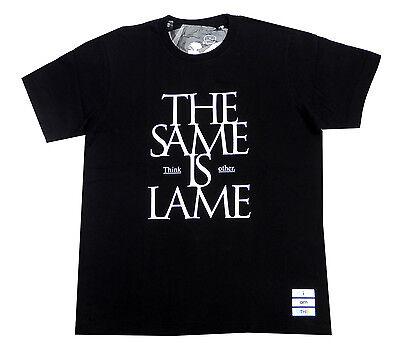 UNIQLO UT x I AM OTHER By Pharrell Same Is Lame T-Shirt – Black Medium BNWT RARE