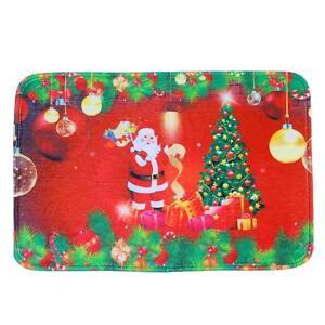 Hot Sale Santa Claus Christmas Tree Mats Doormat Floor Non ...
