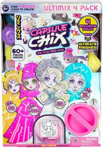 Capsula Chix Ultimix 4 Bambola Mega Pack
